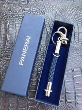 Original Panerai Nautical Rope Knot Motif Keychain -Brand New w Gift Box