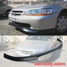 TR Style Front Bumper Lip (PP) Fits 98-00 Honda Accord 2dr