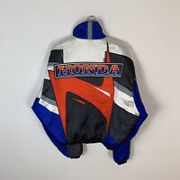 90s Vintage Rare Men's Honda Racing Bike F1 Motorcycle Jacket Size XL