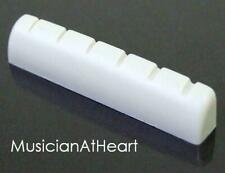 MusicianAtHeart VARIABLE HEIGHT BONE NUT made for IBANEZ Guitars - Adjustable