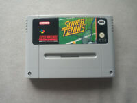 SUPER TENNIS, SUPER NINTENDO, SNES, PAL EUROPEO
