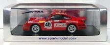 Véhicules miniatures rouge Spark pour Porsche