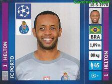 473 HELTON BRAZIL FC PORTO STICKER CHAMPIONS LEAGUE 2014 PANINI