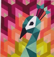 The Peacock - English paper piecing quilt PATTERN - Violet Craft