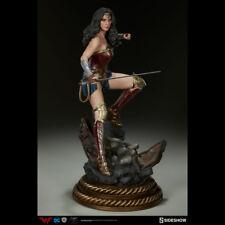 SIDESHOW Bvs.S Wonder Woman Gal Gadot Premium Format Statue Figure NEW SEALED