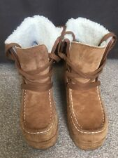 Rocket Dog Suede Wedged Boots