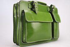 Business- und Laptoptaschen Luxus Aktentasche Grün S