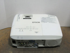 Epson PowerLite X17 3LCD XGA Projector 2700 Lumens w/ 2574 Lamp Hours Tested