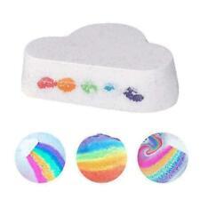 Natural Skin Care Cloud Rainbow Bath Salt Moisturizing Bath Bombs Balls X9J7