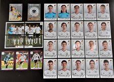 Panini UEFA Euro 2012 Poland/Ukraine Complete Team Germany + 2 Foil Badges