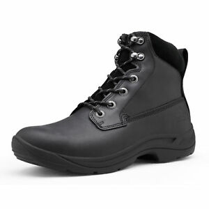 NORTIV 8 Men's Work Boots Military Tactical Combat Army Lightweight Ankle Safety