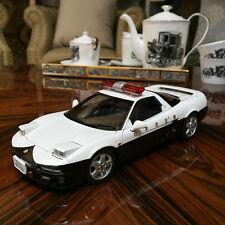 NEW 1/18 Autoart Diecast  Honda NSX Japanese Police Car Model Open & Close 73274