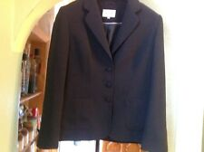 IMMACULATE LOVELY BLACK SMALL SPOTTED BUSINESS/WORK JACKET NEXT SIZE UK 16