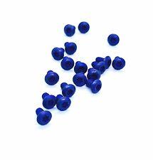 Fits Spyderco Yojimbo 2 • Titanium Torx Scale Screws • 6x Screws • Matte Blue
