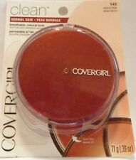 COVERGIRL Clean Foundation Powder 4 pack 140 NATURAL  Beige New normal skin