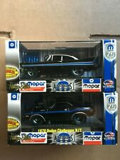 2 M2 Machines Auto-Dreams 1958 Plymouth Fury and 1970 dodge challenger 1/64