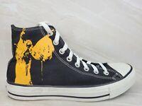 CONVERSE All Star Black Sabbath Vol 4 2007 Black Hi Top Shoes Mens Size 8