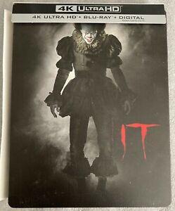 It (4k Blu-ray/Blu-ray, Best Buy Exclusive Steelbook, Read Description)