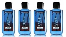 Bath & Body Works Paris For Men 2 in 1 Hair & Body Wash - Lot of 4