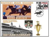KAUAI KING 1966, KENTUCKY DERBY 130th ANNIVERSARY COV