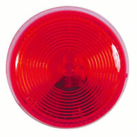 Sealed RED Clearance Marker Light W// Chrome Bezel ~  V150KR ~ Peterson