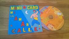 CD Ethno Manu Chao - Me Llaman Calle (1 Song+ Video) MCD BECAUSE REC cb