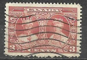 Canada 1935 Stamp Used 3 Cents King George V