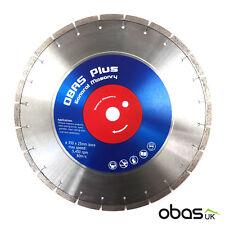Obas Plus 350mm | 14″ General Masonry Application Diamond Cutting Disc Blade
