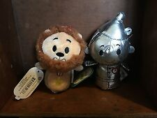 Itty Bittys Wizard Of Oz Cowardly Lion And Tin Man Stuffed Animals Retired