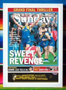 ✺Framed✺ 2006 WEST COAST EAGLES AFL Premiers Poster - 84cm x 59.5cm x 3cm