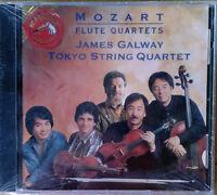 MOZART FLUTE QUARTETS - JAMES GALWAY - RCA / RED SEAL - SEALED CD