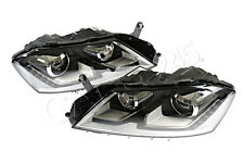 Headlights Pair Bi-Xenon LED DRL Fits VW Passat Alltrack B7 2010-2014
