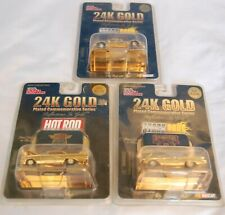 Racing Champions 1:64 SCALE 24K 3 Gold Plated Commemorative Series