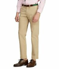 Men's 38 x 36 POLO RALPH LAUREN Stretch Classic Fit Flat Front Chino Pants Tan