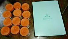 Partylite One Full Box (12) of Pineapple & Pomegranate V04402 Tealight Candles
