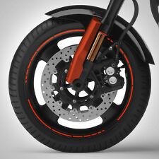 Felgenrand Aufkleber GP STYLE Streifen Filigran Motorrad Felgenaufkleber #1261