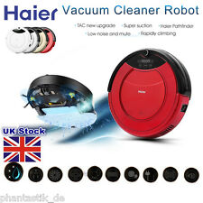 Haier Cleaning Robot Vacuum Auto Robotic Cleaner Recharge Floor Dust Sweeper UK