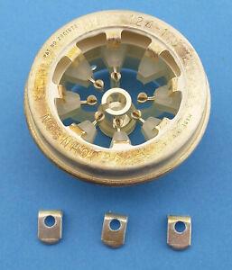 4CX250B/R Tube Socket, Johnson 124-115-2, New