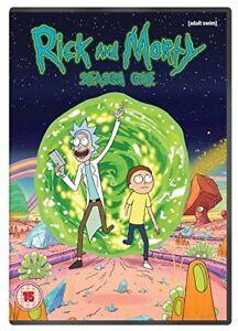 Rick and Morty Season 1 [DVD][Region 2]