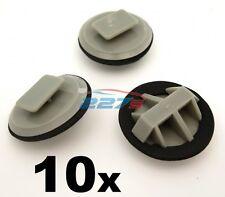 10x Plastic Trim Clips for Mazda Sill Moulding / Rocker Cover Trim Clips