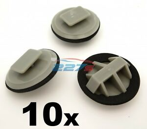10x Plastik Rand Klemmen für Mazda Schweller Profil/Ventildeckel