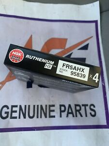 NGK RUTHENIUM HX Spark Plugs FR5AHX 95839 Set of 6