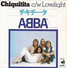 "ABBA ""Chiquitita"" & ""Lovelight"" 1978 Japan Record (VG++/NM) & Picture Slv (NM)"