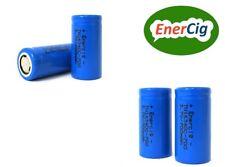 4 x Enercig 16340 CR123A 3,7V 700mAH Li-ion wiederaufladbare Akkuzelle (2,59Wh)