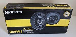 "KICKER - CS Series 5-1/4"" 2-Way Car Coaxial Speakers 40CS54 225 Watt 40 Ohm"