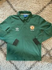 Adidas Manchester United Retro Keeper Cotton Jersey Replica Wembley 1985 - Large