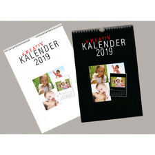 1x BASTELKALENDER FOTOKALENDER KREATIVKALENDER  2019  A4 bis 18x18 cm