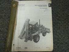J I Case 680K Construction King Loader Backhoe Parts Catalog Manual PC 8-2260