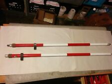 Set of Two Prism Poles SECO and Sokkia Free Shipping!