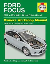 Ford Focus MK3 1.0 1.6 Petrol 1.6 Diesel 2011 - 2014 60 to 14 reg Haynes Manual